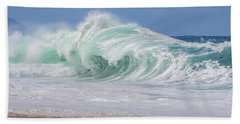 Hawaiian Shorebreak Hand Towel
