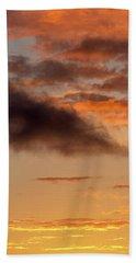 Hawaiian Sunset Vertical Panoramic  Bath Towel