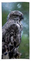Hawk Eagle  Bath Towel