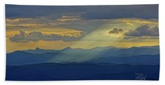 Hawks Bill Mountain Sunset Hand Towel