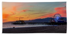Heading Home At Dusk Bath Towel