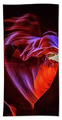 Heart Of Antelope Canyon Bath Towel