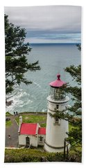 Heceta Head Lighthouse Hand Towel