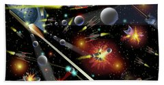 Hell In Space Bath Towel