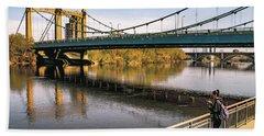 Hennepin Avenue Bridge Bath Towel
