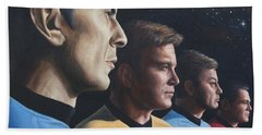 Heroes Of The Final Frontier Bath Towel