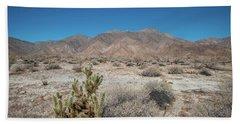 High Desert Cactus Hand Towel