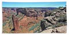 High Noon At Spider Rock Hand Towel