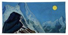 Himalayan Landscape, 1930-1947 Bath Towel
