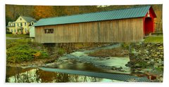 Historic Green River Covered Bridge Hand Towel