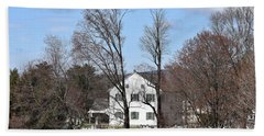 History And Trees Hand Towel