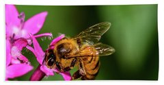 Honey Bee Bath Towel