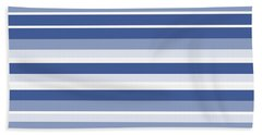Horizontal Lines Background - Dde607 Bath Towel