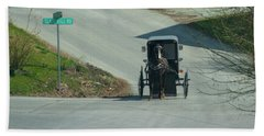 Horse And Buggy - Amish Country - Lancaster County Hand Towel
