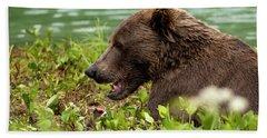 Hungry Bear Hand Towel