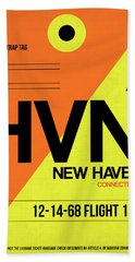 Hvn New Haven Luggage Tag I Hand Towel