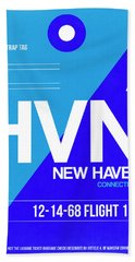 Hvn New Haven Luggage Tag II Hand Towel