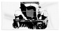 I Brake For Old Trucks Hand Towel