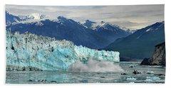 Iceberg Splash Hubbard Glacier Hand Towel