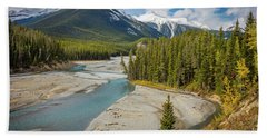 Icefields Parkway Delta Hand Towel