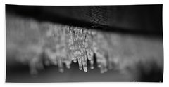Icy Fence Hand Towel