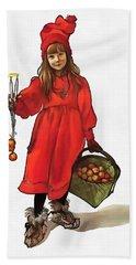 Iduna And Her Magic Apples Hand Towel