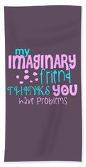 Imaginary Friend Hand Towel