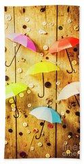 In Rainy Fashion Hand Towel