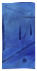In The Blue Mist Bath Towel