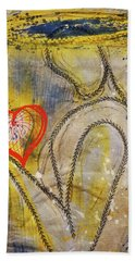 In The Golden Age Of Love And Lies Hand Towel
