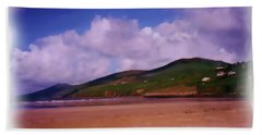 Inch Beach Painting Bath Towel