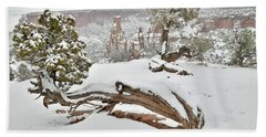 Independence Canyon Of Colorado National Monument Hand Towel