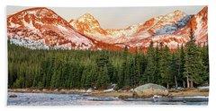 Indian Peaks Sunrise Hand Towel