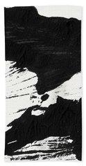 Ink Wave 1- Art By Linda Woods Hand Towel
