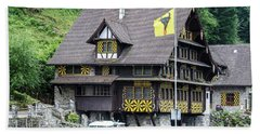 Inn On Lake Lucerne Hand Towel