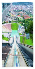 Innsbruck Ski Slope Bath Towel