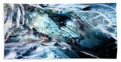 Inside The Glacier Hand Towel