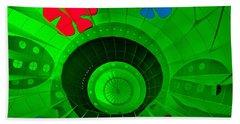 Inside The Green Balloon Hand Towel