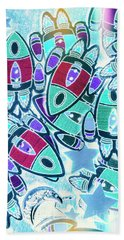 Intergalactic Abstract Hand Towel