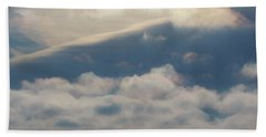 Hand Towel featuring the photograph Iridescent Clouds 01 by Rob Graham