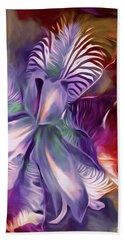 Iris Splendor 12 Bath Towel