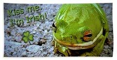 Irish Frog Bath Towel