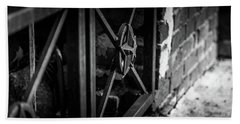 Iron Gate In Bw Hand Towel