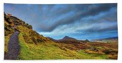 Isle Of Skye Landscape #i1 Bath Towel