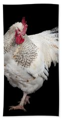 Isolated Chicken Hand Towel