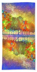 It's Only A Difference Of Reflection Hand Towel