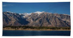 Jackson Lake Wyoming Hand Towel