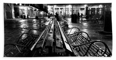 Jackson Square In The Rain Bath Towel