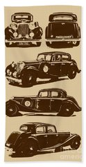 Jaguar Mark Iv Ss 2.5 Saloon Bath Towel