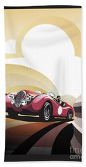 Jaguar Xk 120 Bath Towel